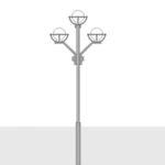 Парковые опоры освещения